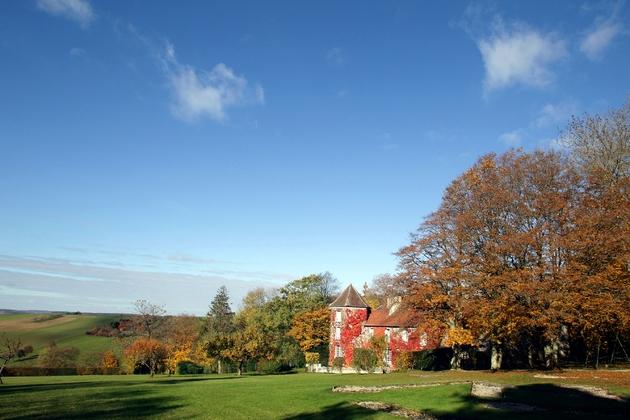 La Boisserie, la vaste demeure acquise par la famille de Gaulle en 1934, le 5 novembre 2010 à Colombey-les-Deux-Eglises