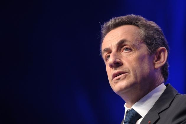 Nicolas Sarkozy, à Paris le 6 mai 2012