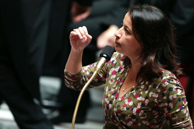 Cécile Duflot à l'Assemblée nationale le 25 septembre 2012