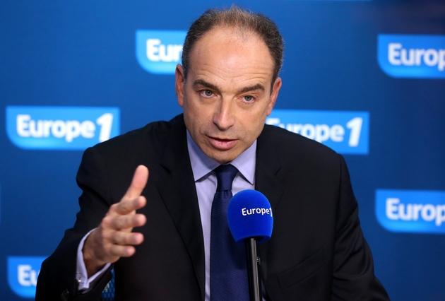Jean-François Copé participe à une émission sur Europe 1, le 22 novembre 2012 à Paris