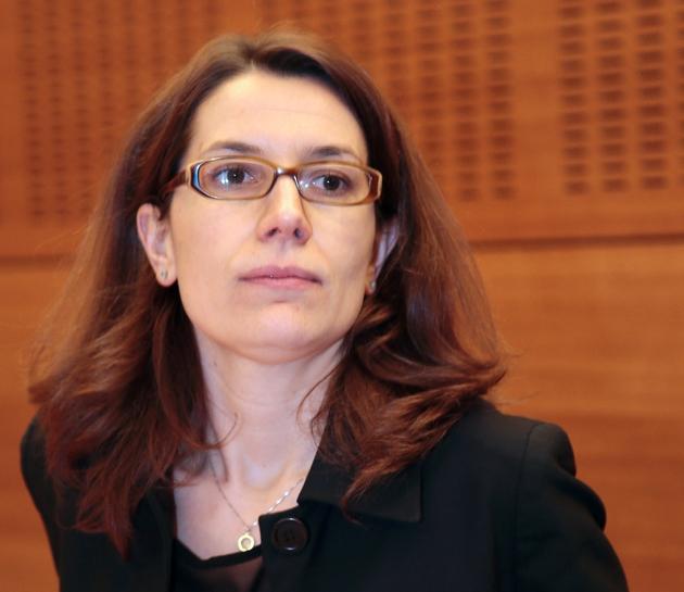 Stephanie Cherbonnier à Paris le 27 février 2013