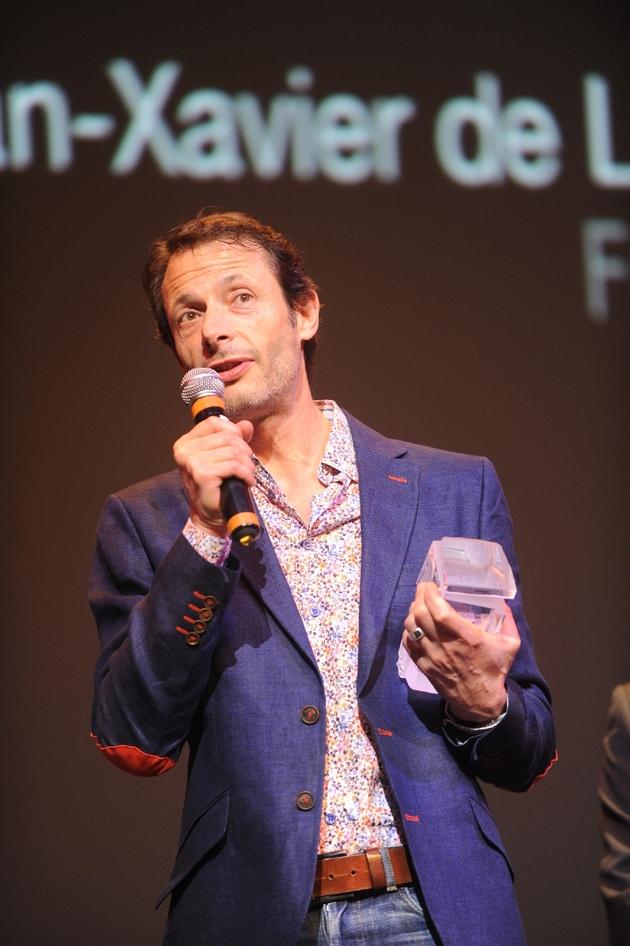 Le cinéaste Jean-Xavier de Lestrade le 25 janvier 2014 à Biarritz