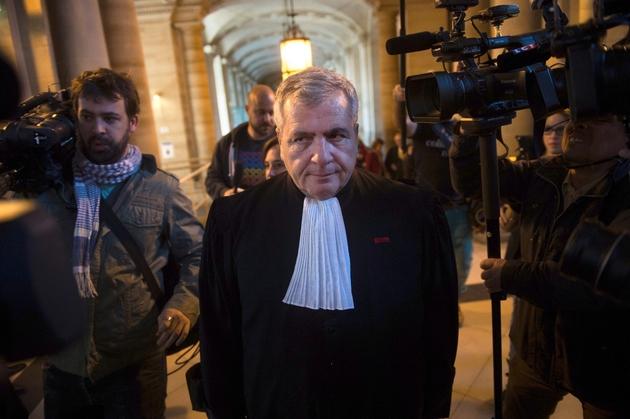 Thierry Herzog au palais de justice de Paris, le 10 mars 2014