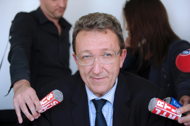Michel Laforcade, directeur général de l'Agence régionale de santé Nouvelle-Aquitaine, en 2014