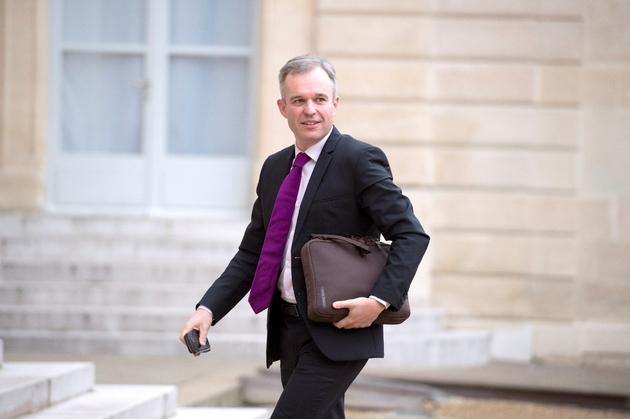 L'ancien président de l'Assemblée nationale Francois de Rugy arrive à l'Elysée à Paris le 27 novembre 2014