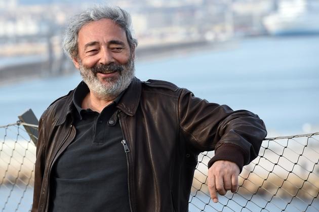 """Dan Franck, auteur des séries """" Les Hommes de l'ombre"""" et """"Marseille"""", à Marseille le 20 mars 2015"""