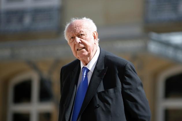 Le maire de Marseille Jean-Claude Gaudin le 7 avril 2015 à Paris