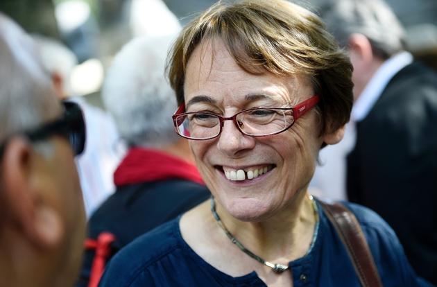 Martine Billard, membre du comité électoral de la France Insoumise