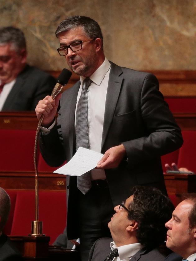 Bertrand Pancher, le 6 octobre 2015, à l'Assemblée nationale