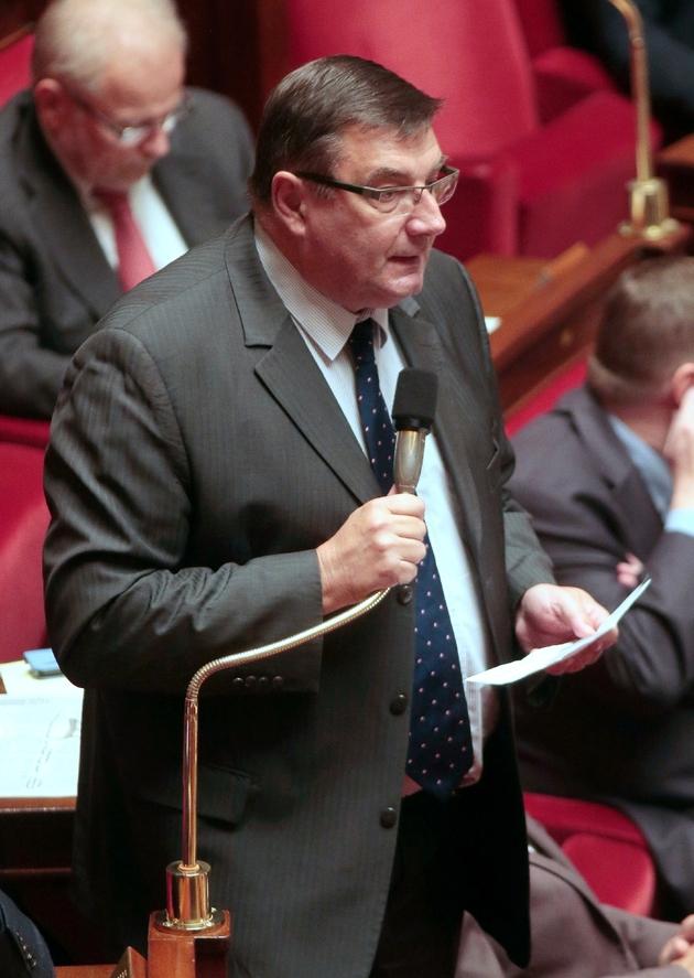 Jean-François Lamour le 4 novembre 2015 à l'Assemblée nationale à Paris