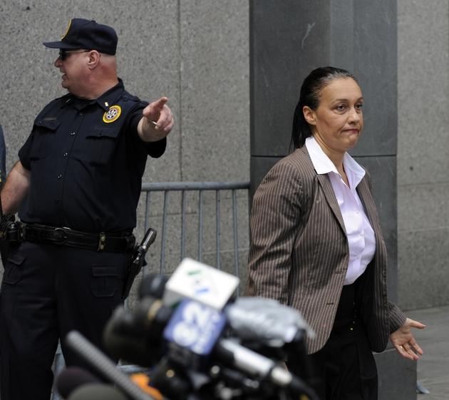 La journaliste Laurence Haïm à New York le 29 juin 2009.