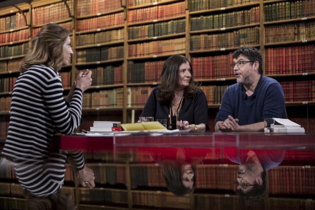 Ariane Chemin, Pierre Schoeller avec Adèle Van Reeth dans Livres & vous