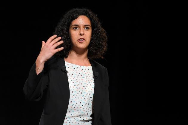 Manon Aubry, le 29 avril 2019 à Bordeaux