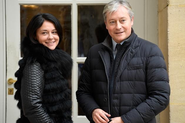 Sylvia Pinel et Laurent Henart à Matignon le 29 novembre 2017 à Paris