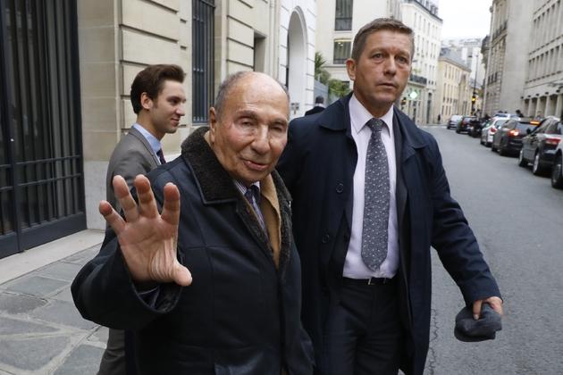 Serge Dassault le 22 novembre 2016 à Paris