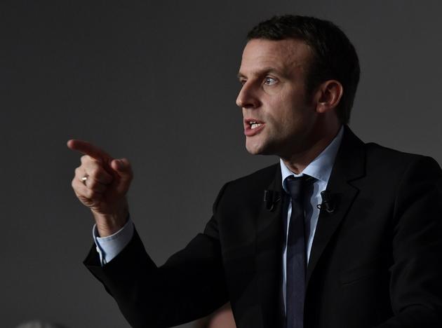 Emmanuel Macron, candidat à la présidentielle 2017, a donné un meeting électoral à Bordeaux, le 13 décembre 2016