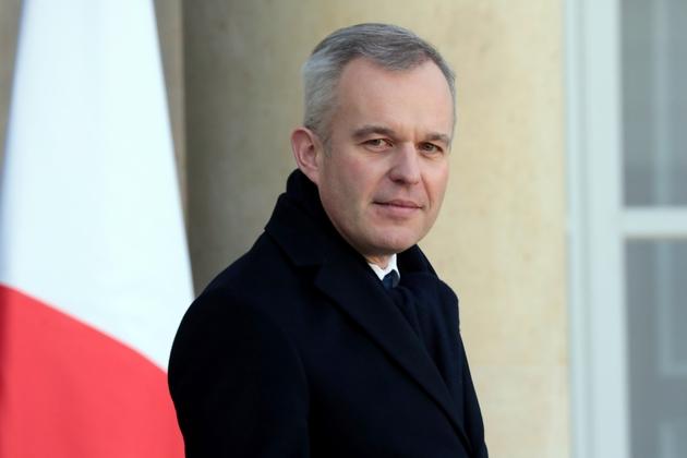 Le ministre de la Transition écologique François de Rugy à l'Elysée, le 13 février 2019