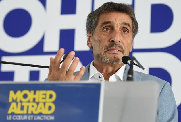 Le milliardaire franco-syrien Mohed Altrad, candidat à la mairie de Montpellier, le 16 septembre 2019 à Montpellier