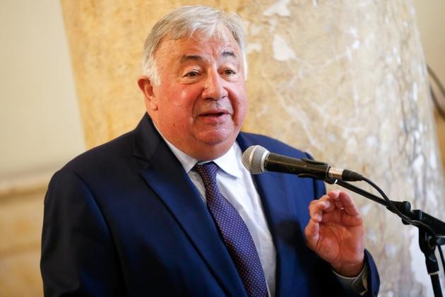 Le président du Sénat Gérard Larcher, à Ajaccio, le 15 août 2019