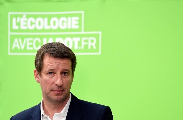 Yannick Jadot, candidat écologiste à l'élection présidentielle, le 11 janvier 2017 à Paris