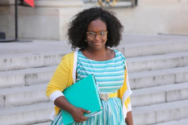 Sibeth NDiaye, porte-parole du gouvernement, le 29 mai 2019 à l'Elysée