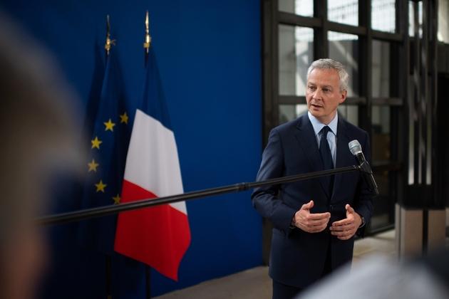 Le ministre de l'Economie Bruno Le Maire s'exprime le 23 mai 2019 à Paris