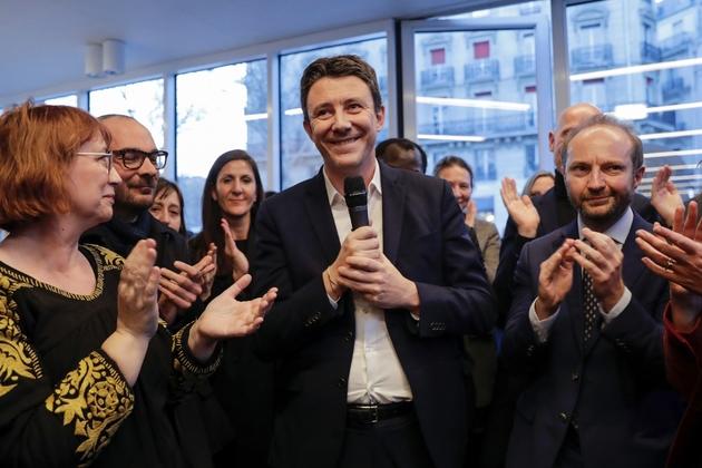 Benjamin Griveaux à Paris le 28 mars 2019