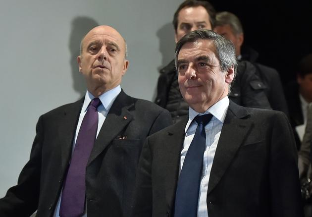 Alain Juppé et François Fillon le 25 janvier 2017 à Bordeaux