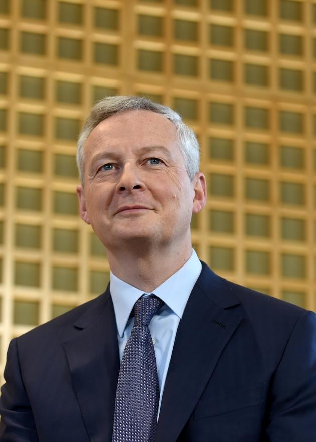 Le ministre de l'Economie Bruno Le Maire, le 14 janvier 2019 à Paris