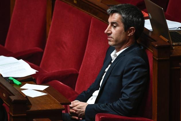 Le député François Ruffin (LFI) à l'Assemblée nationale, le 3 juillet 2019 à Paris