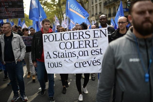 Marche dela colère policière le 2 octobre 2019 à Paris