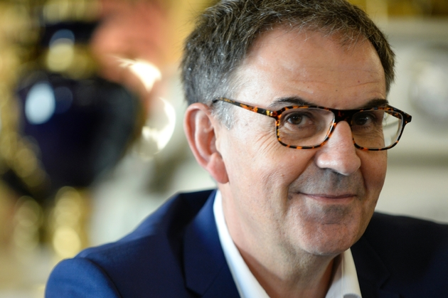 David Kimelfeld, le 17 octobre 2018 à la mairie de Lyon