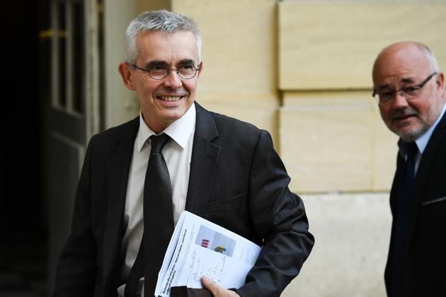 Yves Veyrier, numéro 1 de FO, arrive à Matignon le 5 septembre 2019