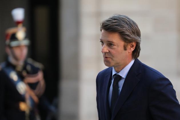 François Baroin, président de l'Association des maires de France le 30 janvier 2018 à Paris.