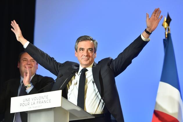 François Fillon le 18 avril 2017 à Lille