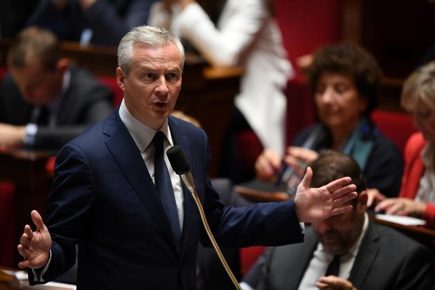 Bruno Le Maire à l'Assemblée nationale le 17 octobre 2018