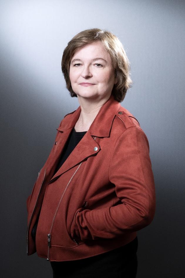 Nathalie Loiseau, photographiée le 25 mars 2019 à Paris