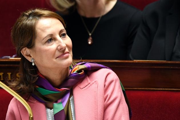 Ségolène Royal, ministre de l'Environnement, de l'Énergie et de la Mer, chargée des Relations internationales sur le climat, le 24 janvier 2017 à l'Assemblée nationale