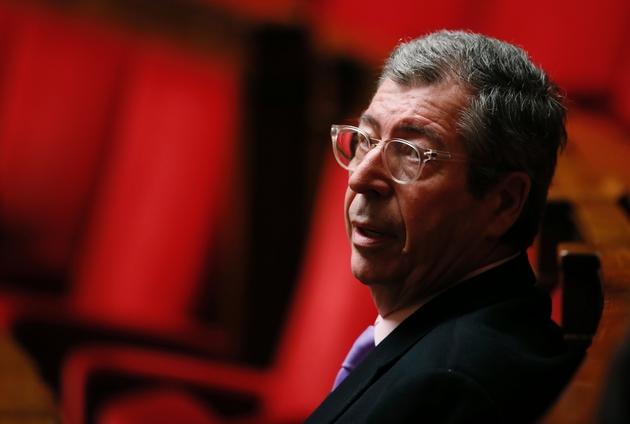 Patrick Balkany lors des questions au gouvernement à l'Assemblée nationale le 12 janvier 2016