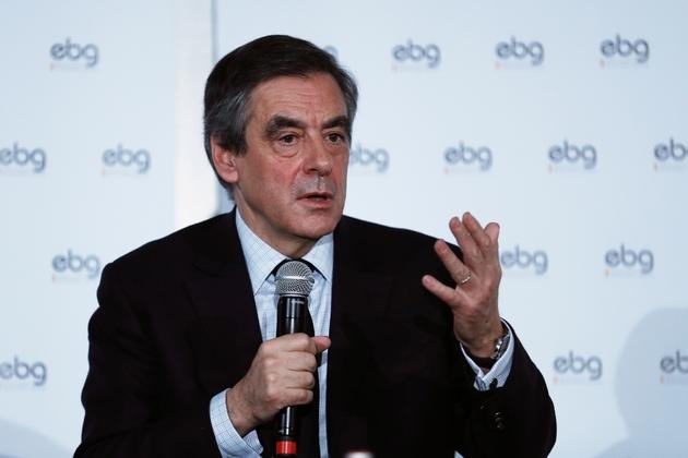 François Fillon lors d'un débat à l'EBG (Electronic Business Group) le 31 janvier 2017 à Paris