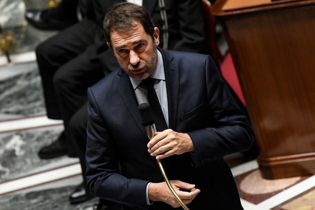 Le ministre de l'Intérieur Christophe Castaner à l'Assemblée nationale le 18 décembre 2018