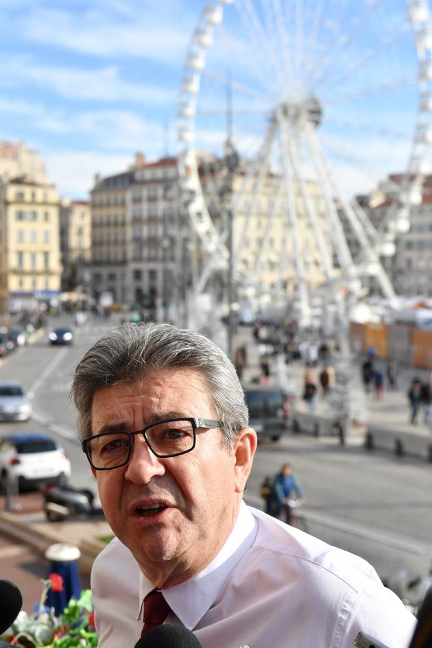 Jean-Luc Mélenchon à Marseille, le 1er décembre 2018