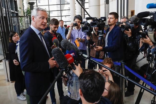Le ministre de l'Economie et des Finances français Bruno Le Maire, le 27 juillet 2019 à Paris