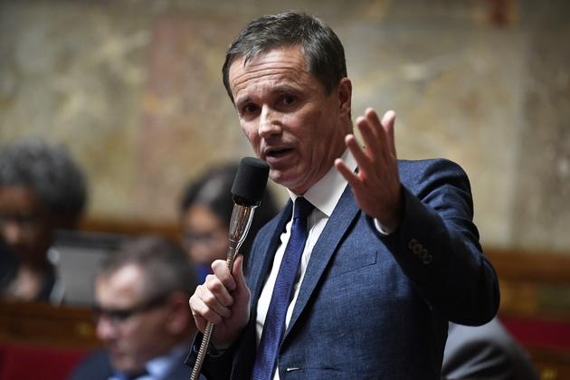 Nicolas Dupont-Aignan à l'Assemblée nationale, photo du 5 juin 2018.