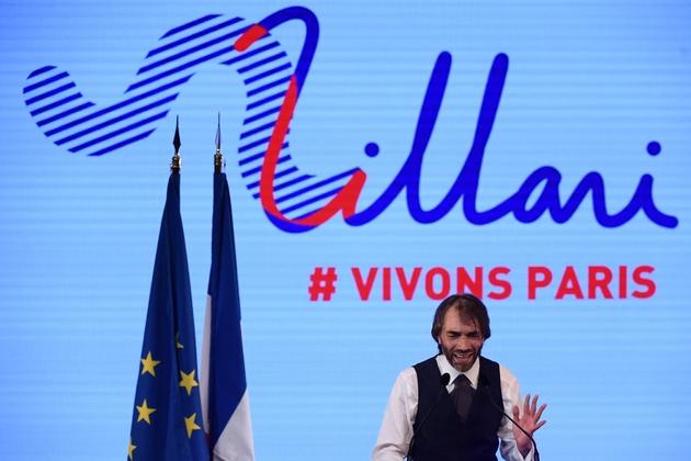 Cédric Villani lors d'un meeting, le 4 juillet 2019 à Paris