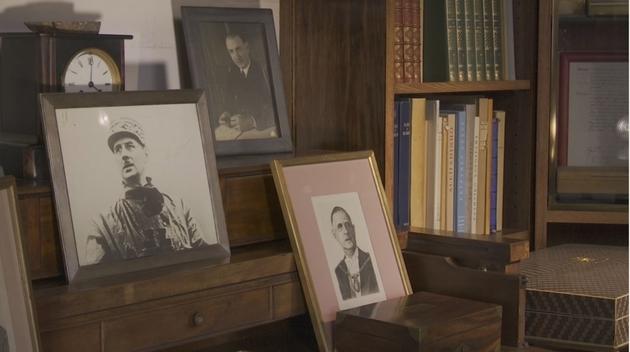 Le bureau du général de Gaulle a Colombey-les-deux-Eglises