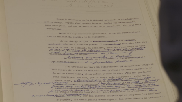 le texte du discours du 30 mai 1968