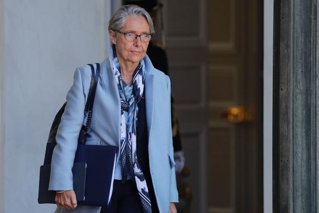 La ministre des Transports, Elisabeth Borne, le 15 mai 2019 à l'Elysée, à Paris