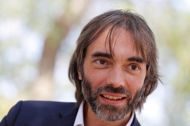Le candidat dissident LREM aux élections municipales de Paris, et mathématicien, Cédric Villani, à Paris le 6 septembre 2019