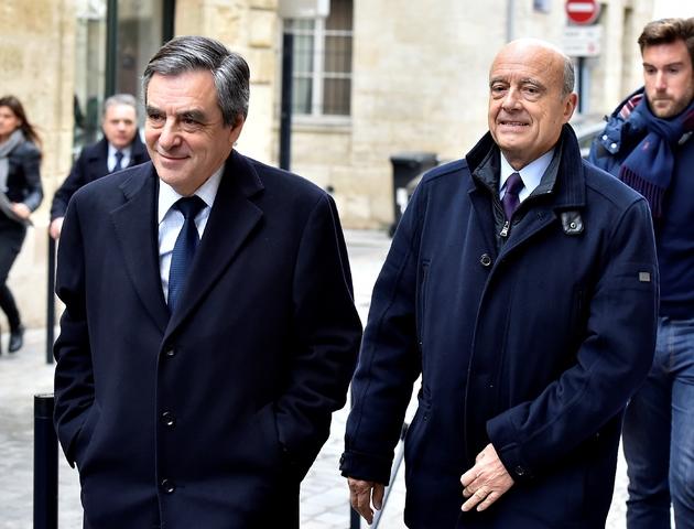 François Fillon et Alain Juppé le 25 janvier 2015 à Bordeaux